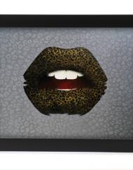 leopard lips print